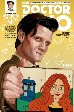 The latest issue of Titan Comics Doctor Who - The Eleventh Doctor title, out now in all good comic shops