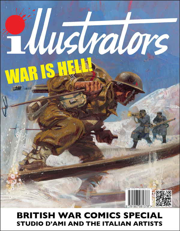 illustrators Special: British War Comics - Studio D'Ami and the Italian Artists
