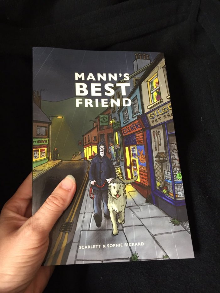 Mann's Best Friend by Sophie and Scarlett Rickard - Cover