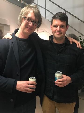 David Blandy and Daniel Locke. Photo: Tony Esmond