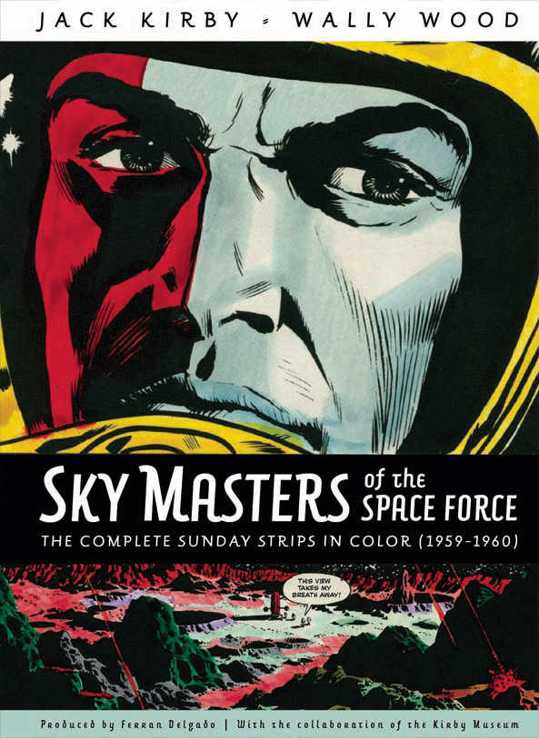 Sky Masters of the Space Force: The Complete Sunday Scripts in Colour: 1959-1960 - Cover