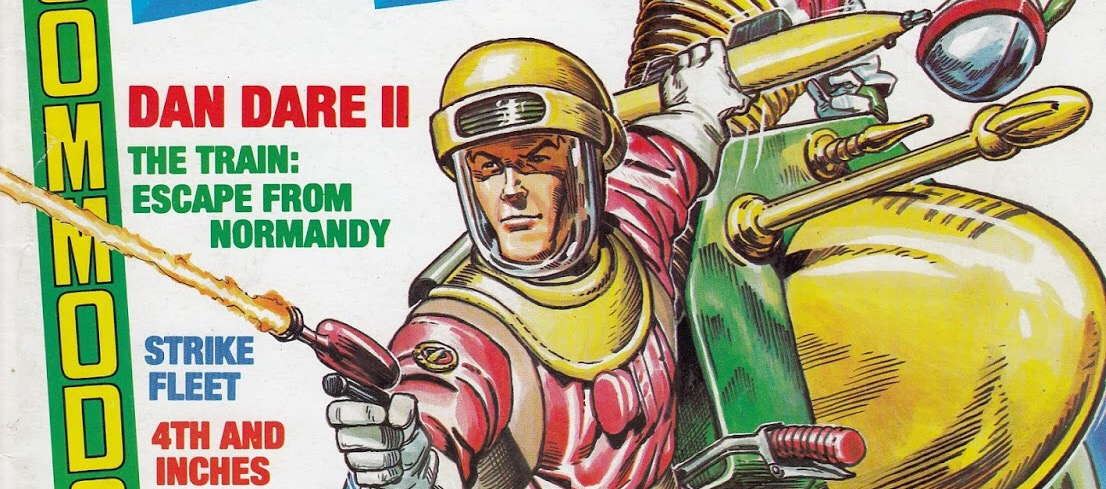 Pixels Away! Early Dan Dare computer games in the limelight, courtesy of Kim Justice