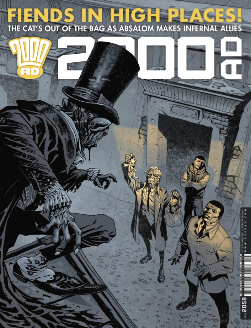 2000AD 2059 - Cover