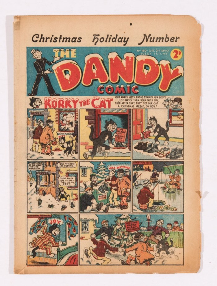 Dandy 160 (1940) Christmas Holiday Number