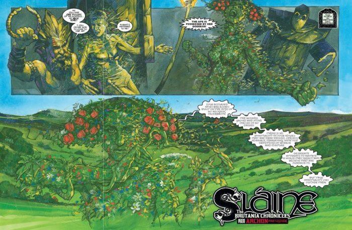 2000AD Prog 2060 - Sláine - Archon (part 11)