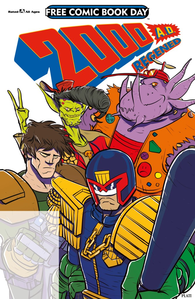 2000AD Regened - Free Comic Book Day 2018