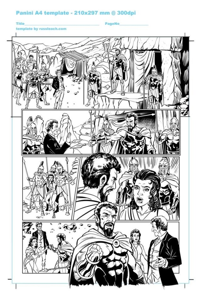 Doctor Who Adventures - Unpublished Twelfth Doctor Strip 2