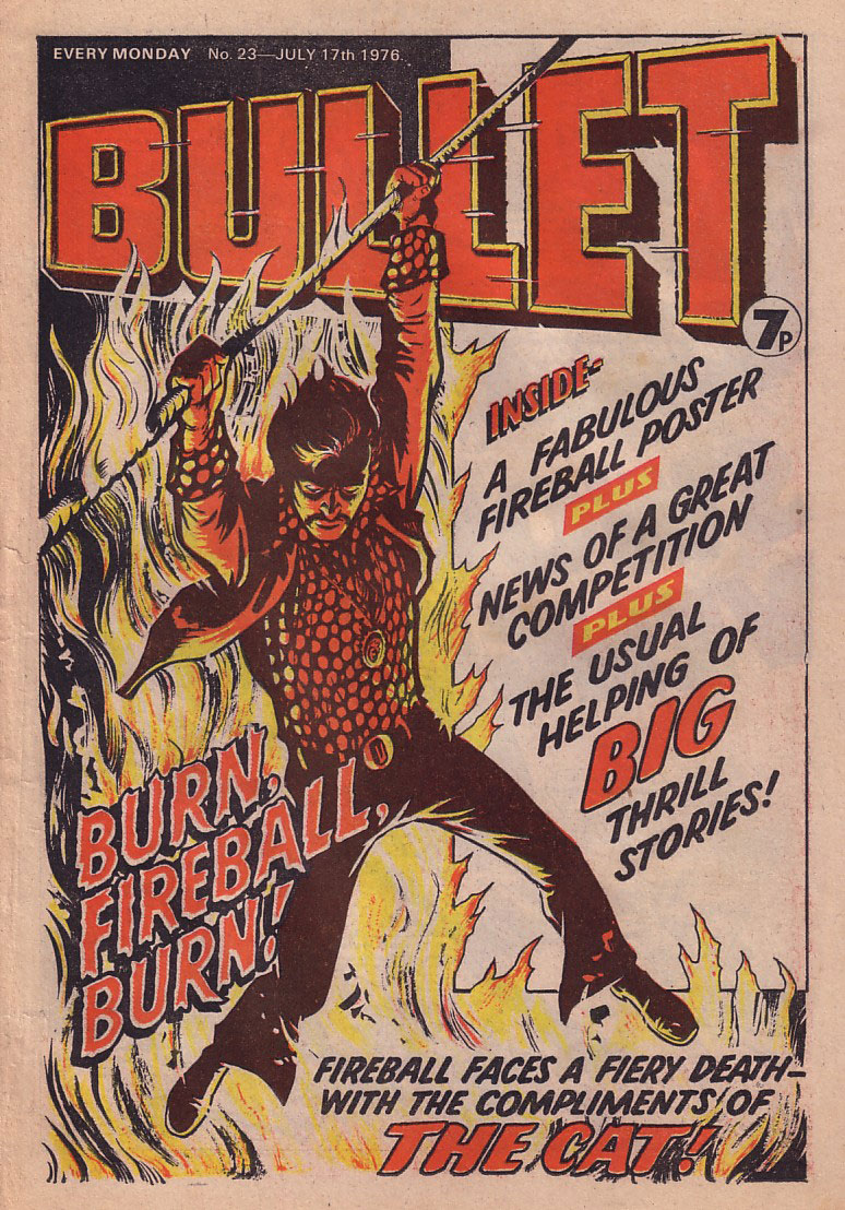 Bullet Issue 23 - cover dated 17th July 1976