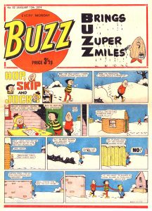 Buzz Issue 52 - cover dated 12th January 1974