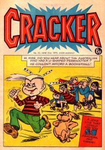 Cracker Issue 23 - cover date 21st June 1975
