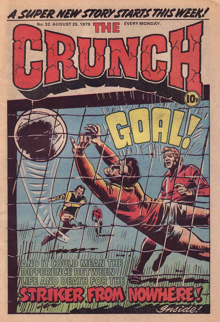 Crunch Issue 32 - 25th August 1979 - Cover