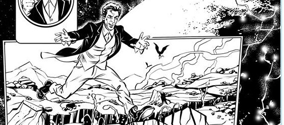"""""""Lost"""" Doctor Who strip materialises"""