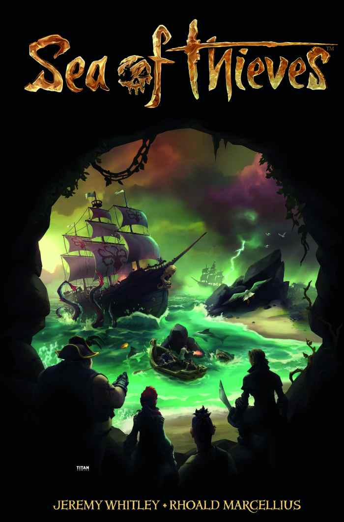 Sea of Thieves #1 Cover B - Game Art