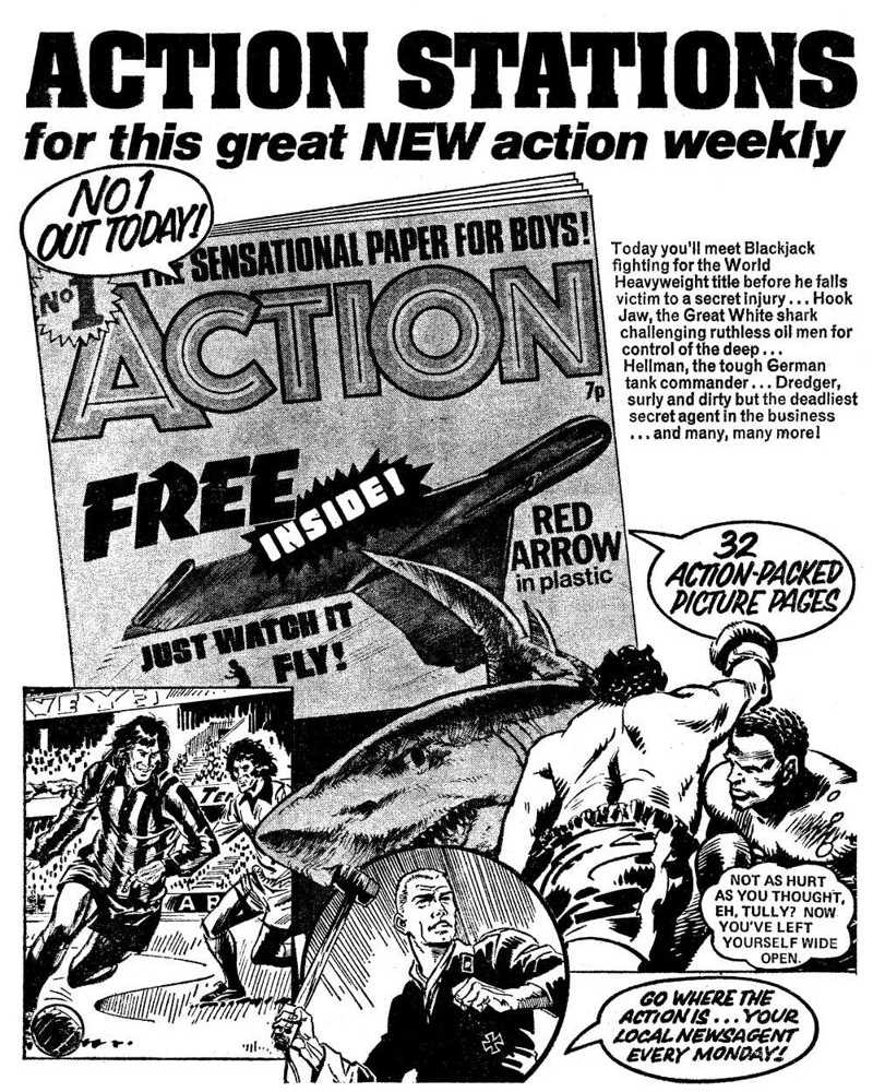Action - House Ad 1