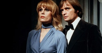Joanna Lumley and David Macullum, the stars of Sapphire and Steel. Image: ITV