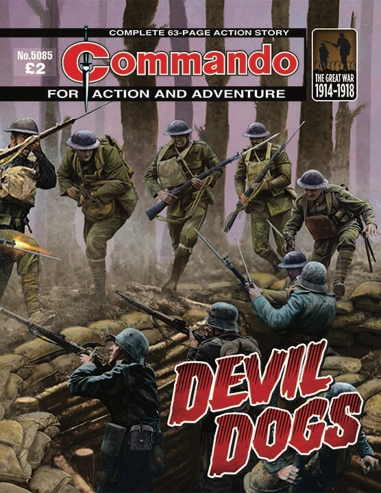 Commando 5085 Action and Adventure: Devil Dogs