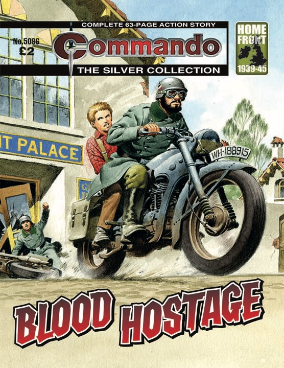 Commando 5086 Silver Collection: Blood Hostage