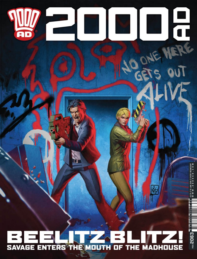 2000AD Prog 2063 - Cover