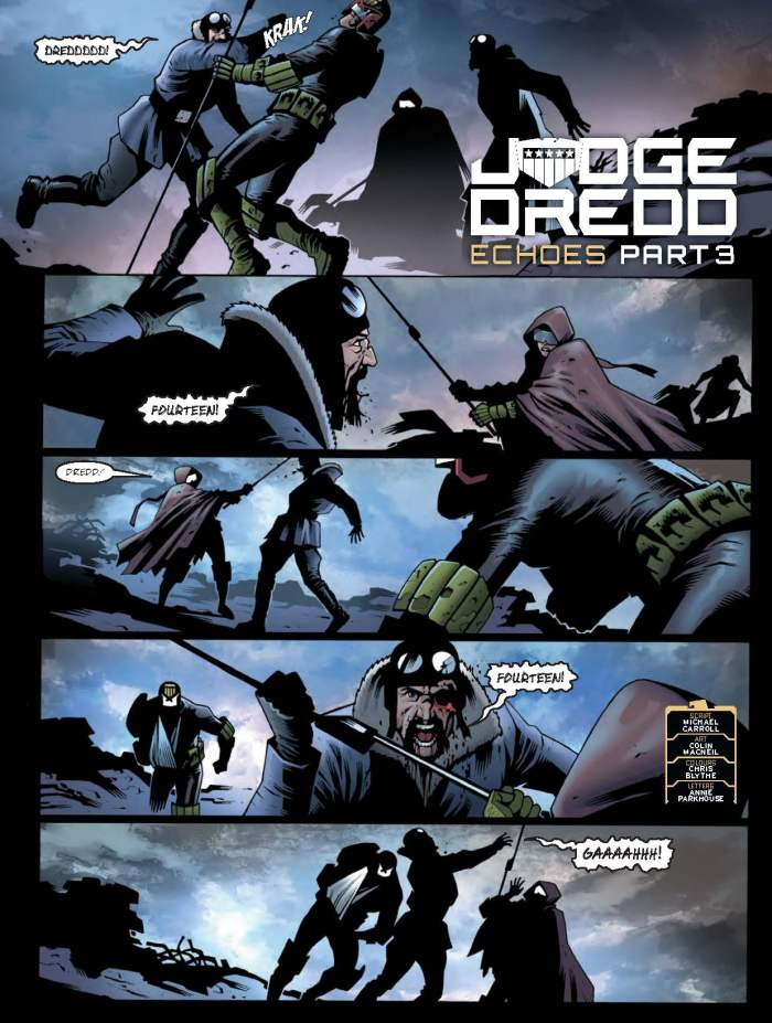 2000AD Prog 2063 - Judge Dredd