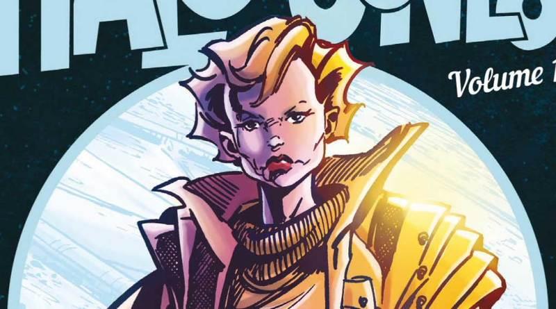 Ballad of Halo Jones Graphic Novel 2018 - Colour SNIP