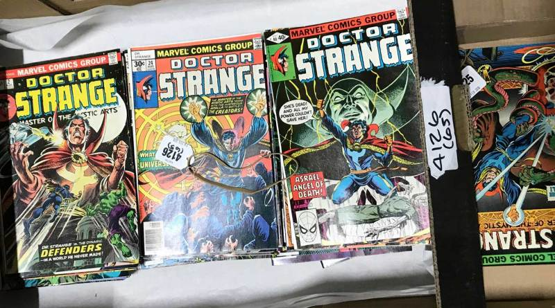 Doctor Strange comics - Vectis sale 28th February 2018