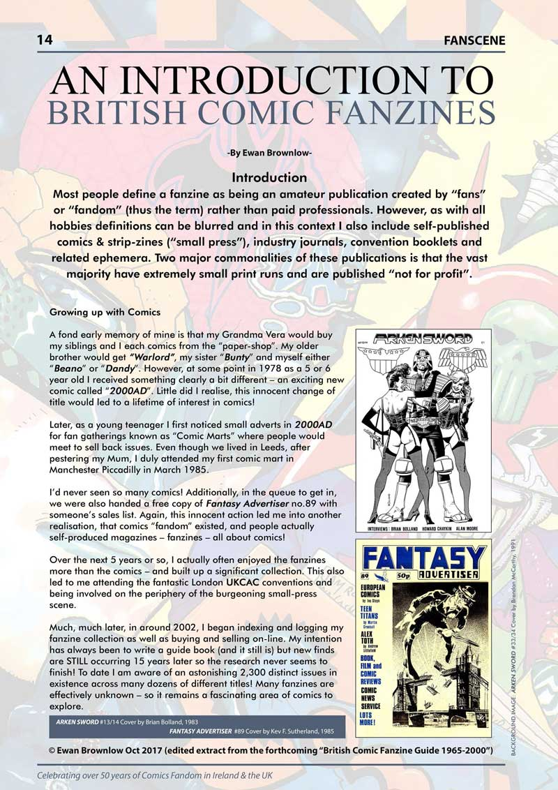 FANSCENE - An Introduction to Fanzines