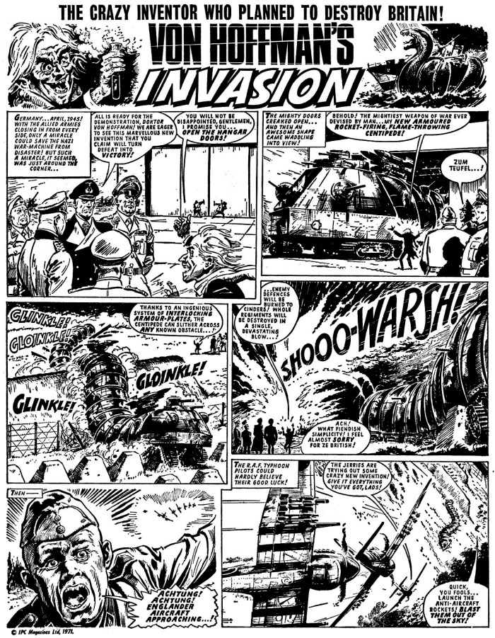 Jet Issue 1 - Von Hoffman's Invasion Page 1