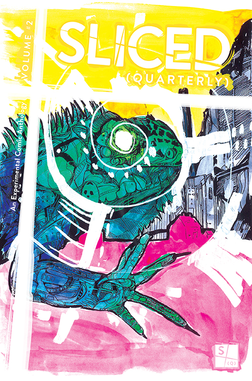 Sliced Quarterly Volume 2, the Experimental Comic Anthology
