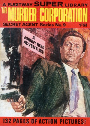 The covers of all of Johnny Neros's original British adventures were rendered in oil by Italian artist Paolo Montecchi, who depicted the hero as having a striking resemblance to actor Marcello Mastroianni