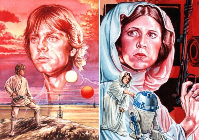 Star Wars: A New Hope - art by Graeme Neil Reid