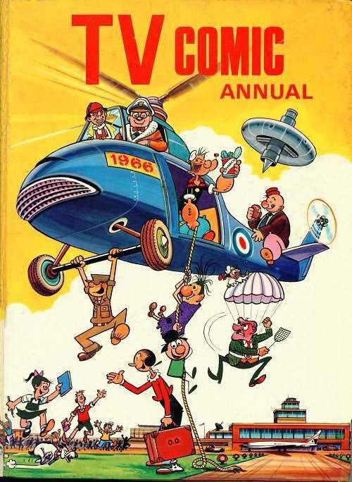 TV Comic Annual 1966 - Cover