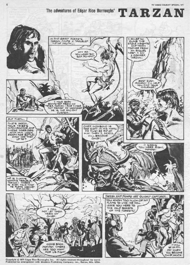 "TV Comic Holiday Special 1971 - ""Tarzan"""