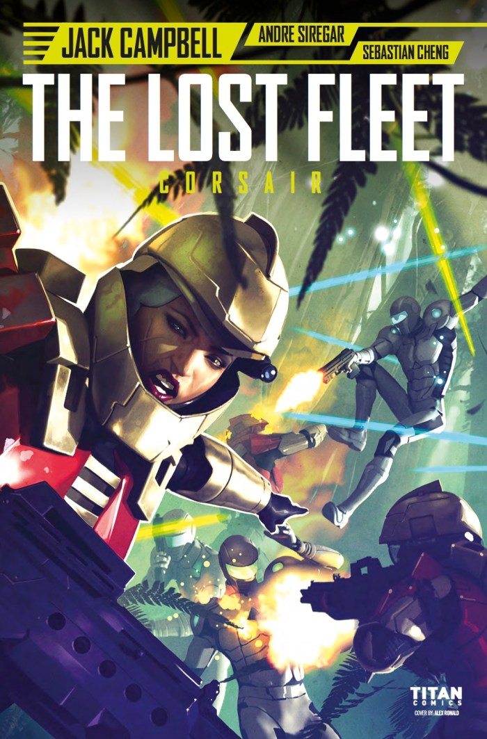 The Lost Fleet - Corsair #5 - Cover A by Alex Ronald
