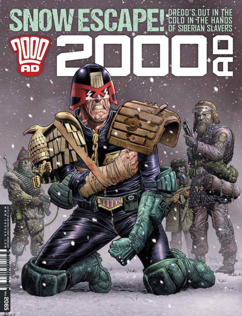 2000AD Prog 2065 - Cover by Chris Weston