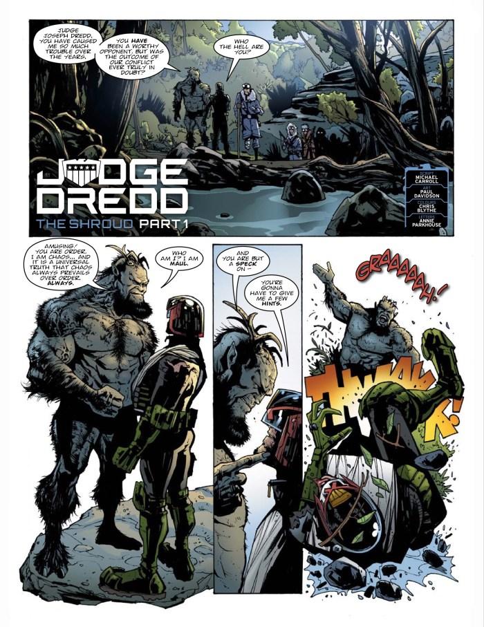 2000AD Prog 2065 - Judge Dredd