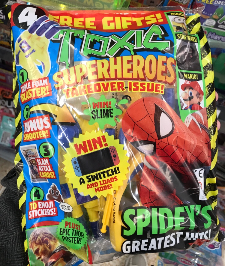 TOXIC Issue 300 - Bagged
