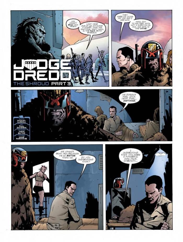 2000AD Prog 2067 - Judge Dredd