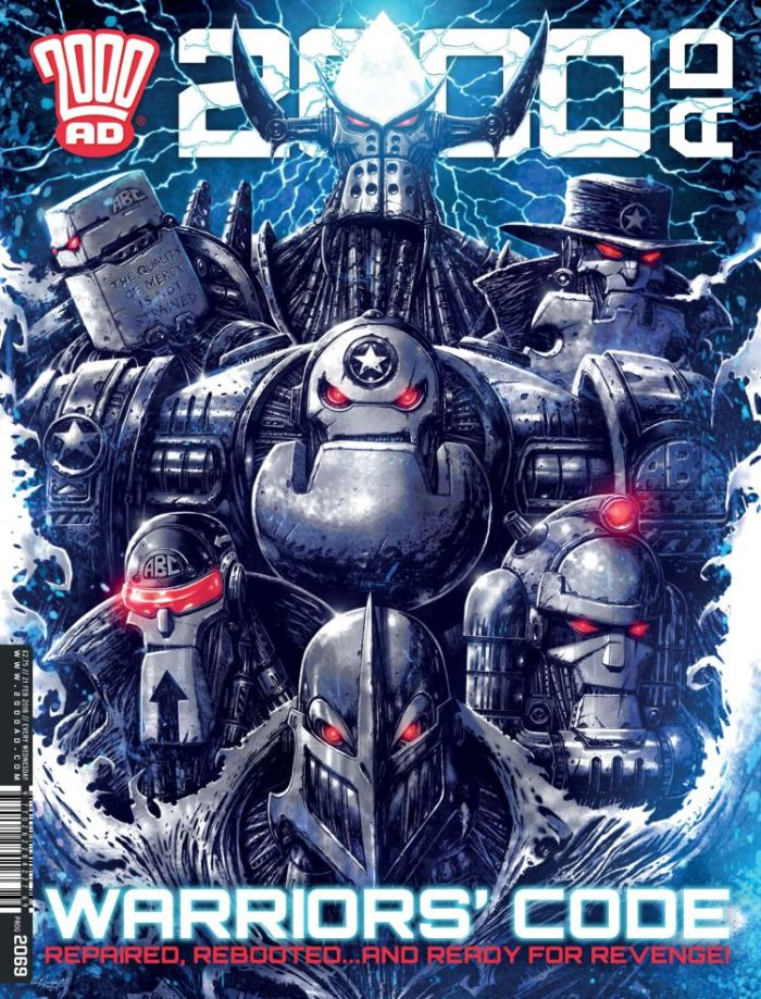 2000AD 2069 - Cover