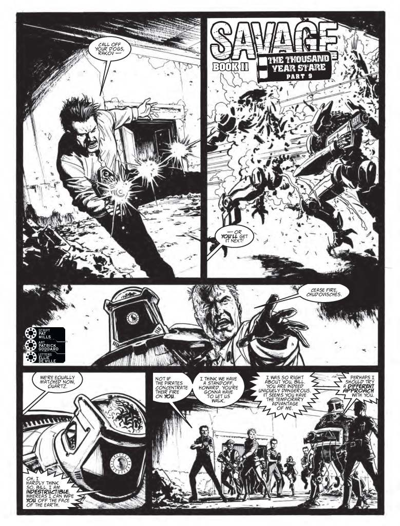 2000AD 2069 - Savage » The Thousand Year Stare (part 9)