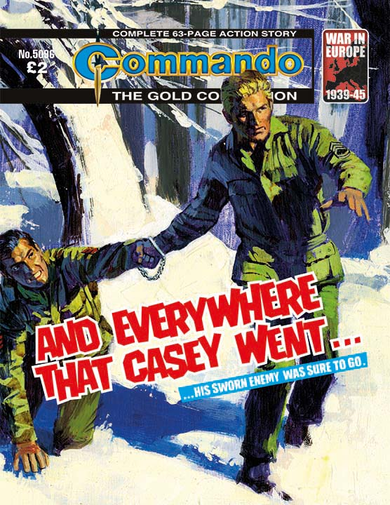 Commando 5096: Gold Collection - And Everywhere that Casey Went…