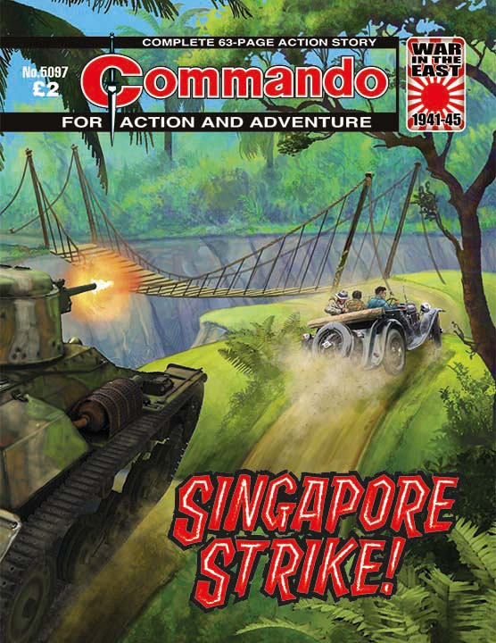 Commando 5097: Action and Adventure - Singapore Strike