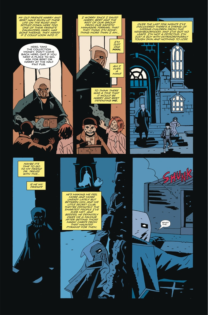 Merrick: The Sensational Elephantman & Doctor Crowe #1 - Preview 5