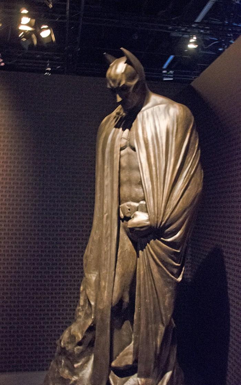 Batman sculpture. Image: Joel Meadows