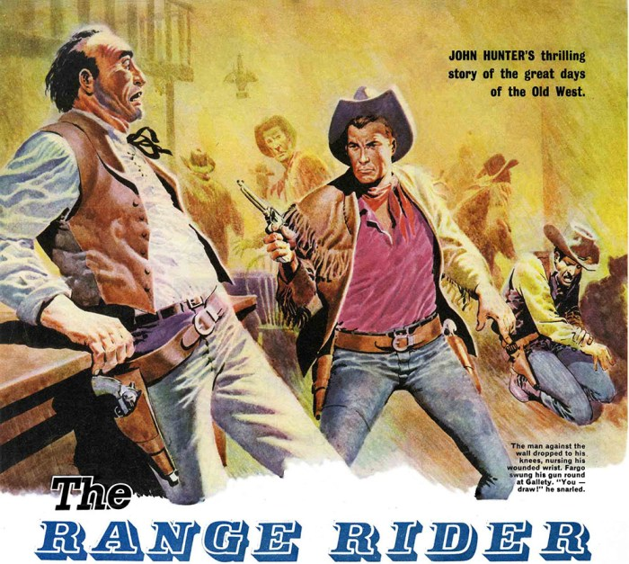 The Range Rider by Don Lawrence