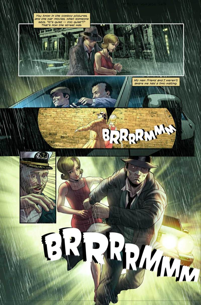 Mickey Spillane's Mike Hammer #1 Interior Art: Marcelo Salaza and Marcio Freire