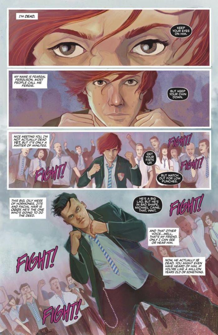Punks Not Dead #1 - Fight Scene