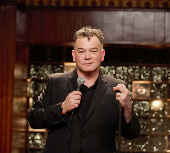 Comedian Stewart Lee. Photo: Colin Hutton