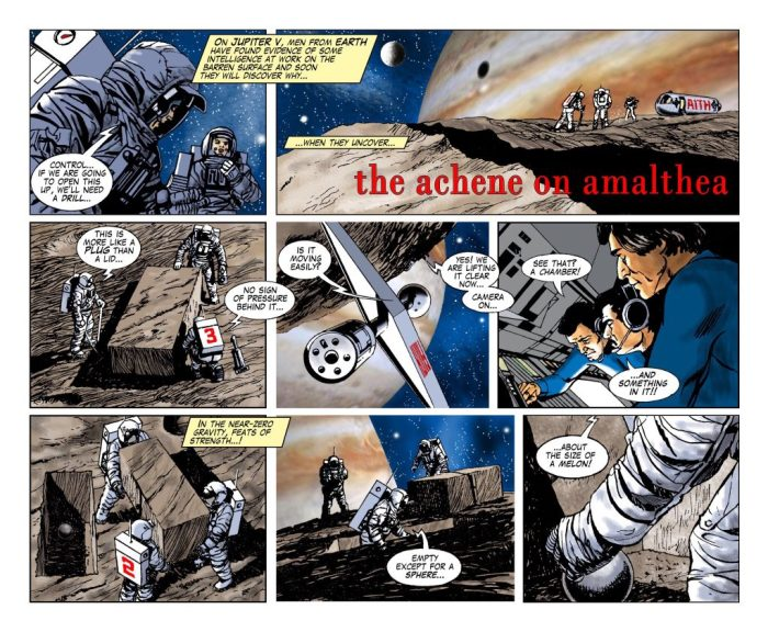 Earthspace - The Alchene on Amalthea