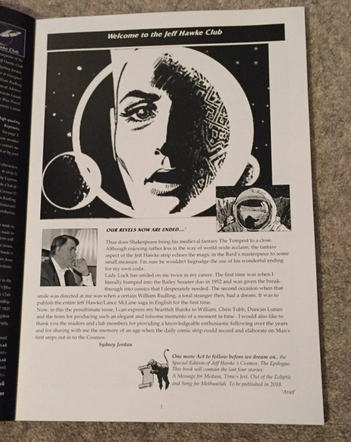 Jeff Hawke's Cosmos (Volume 10, issue 3) Introduction