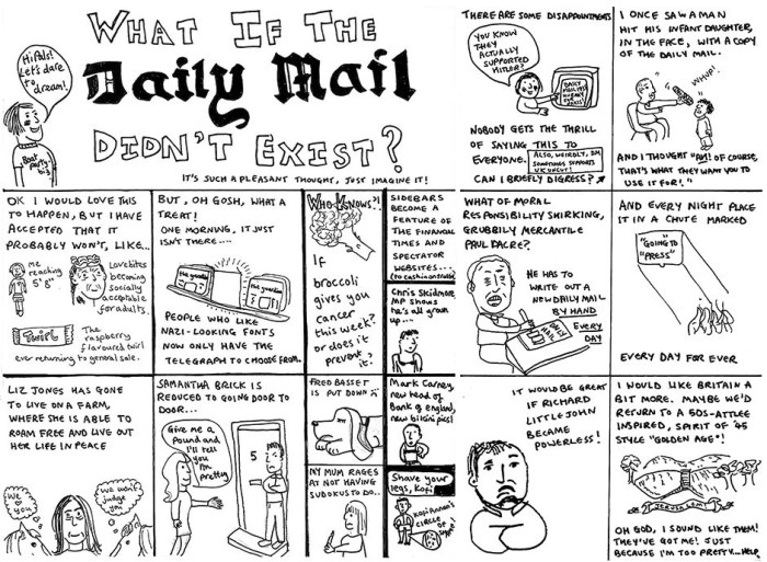 "Josie Long's ""Another Planet"" - What If the Daily Mail didn't Exixt"
